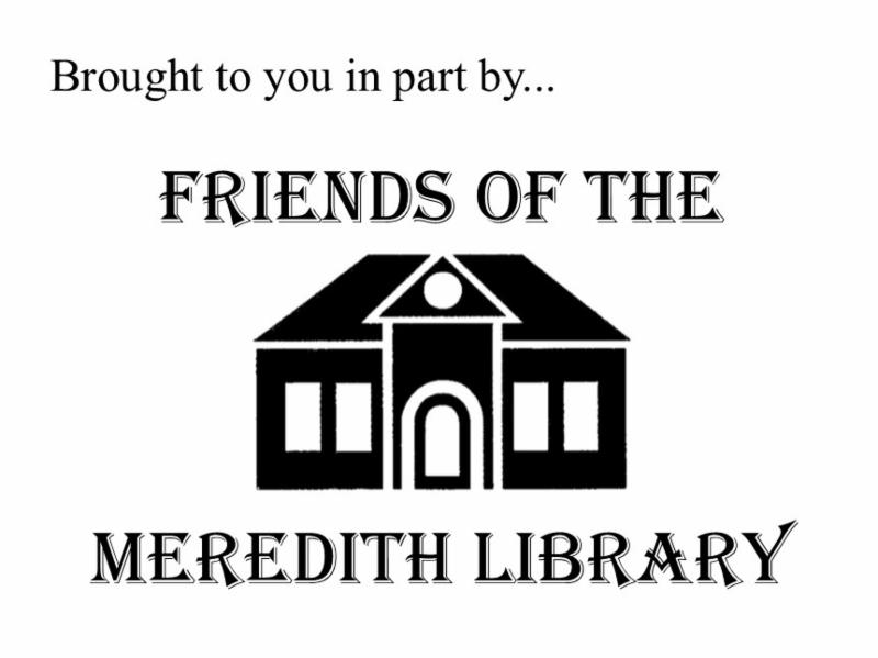Friends of the Meredith Library Sponsored event
