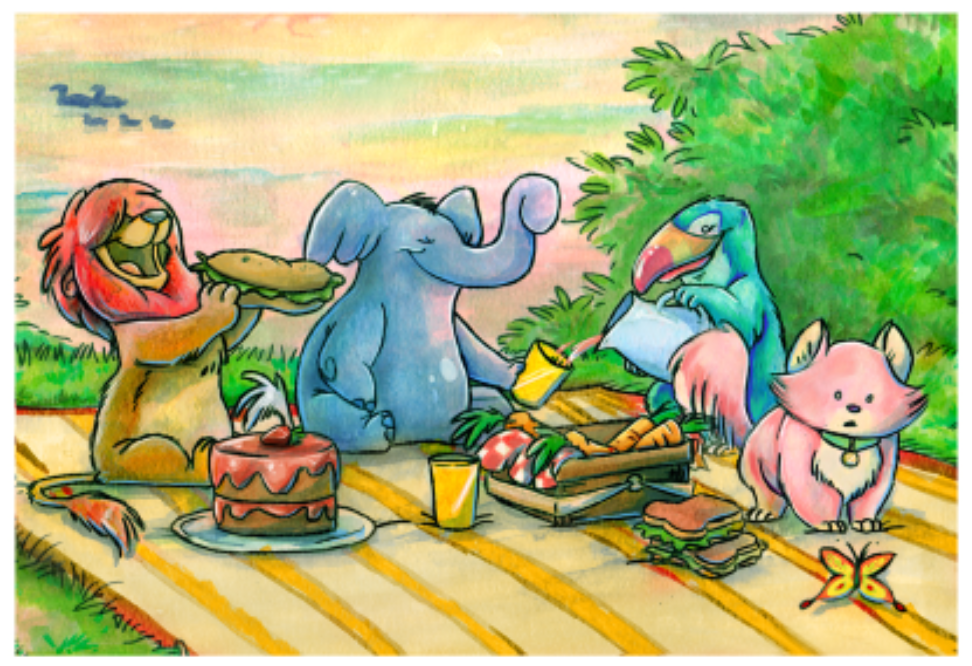 Story time picnic