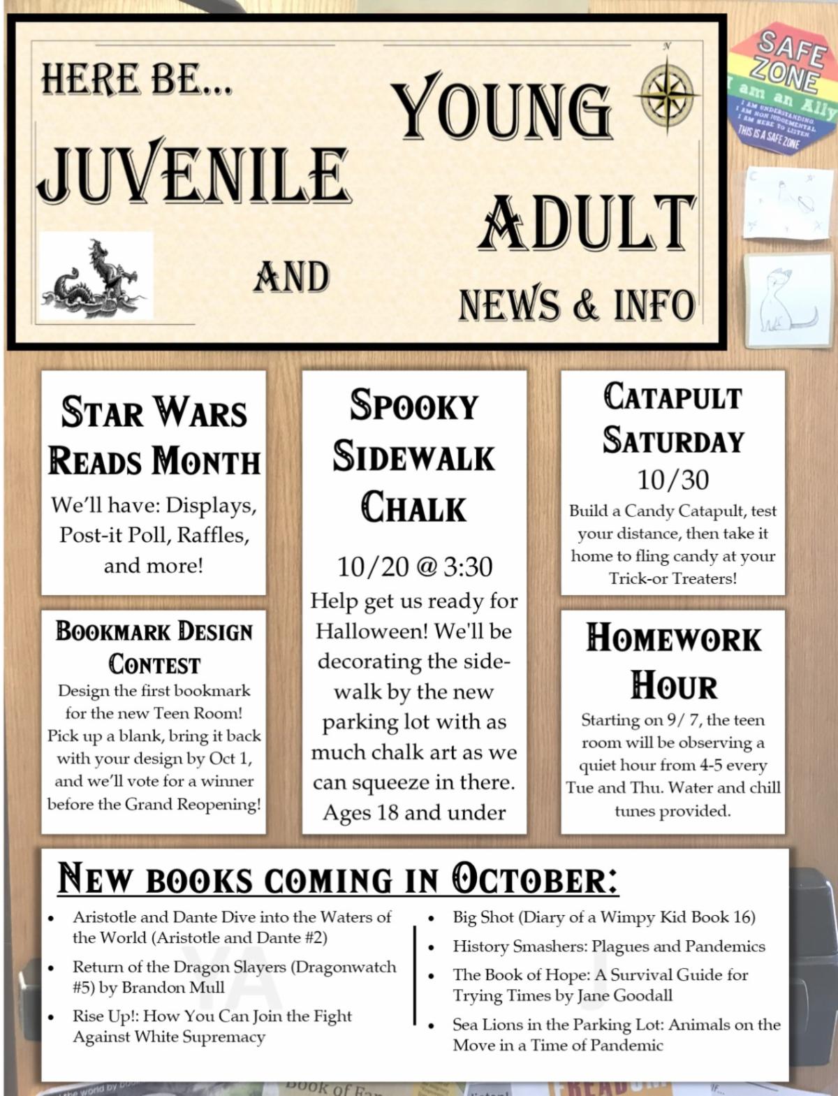 October Teen Events