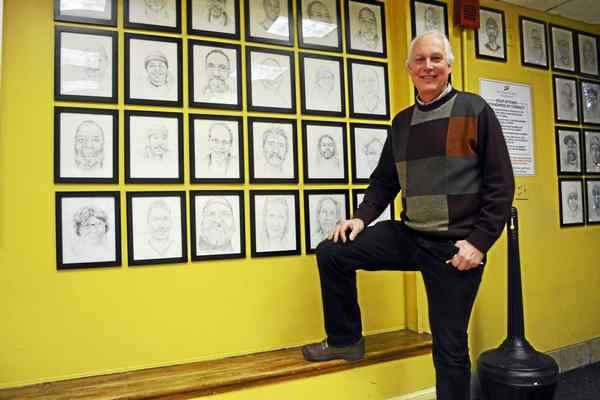 Ron Krom, Middletown Press' Person of the Year 2016 in the Soup Kitchen