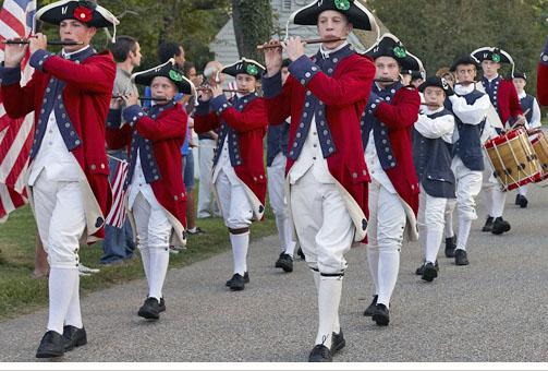 Williamsbujrg parade