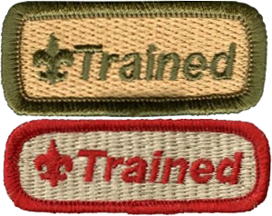 Trained patched