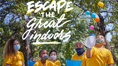 Escape the Great Indoors graphic