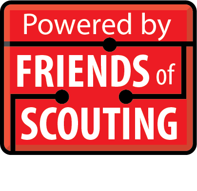 Powered by Friends of Scouting graphic