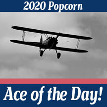 2020 Popcorn Ace of the Day! graphic