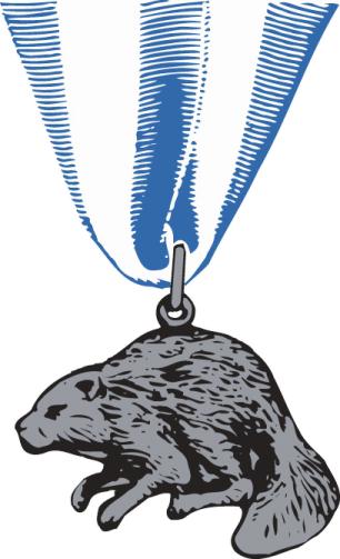 Silver Beaver medal