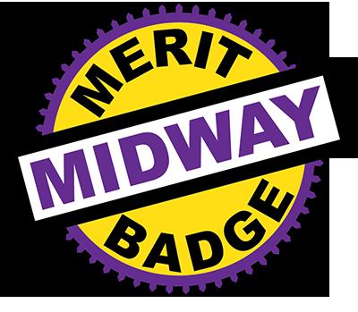 Merit Badge Midway wordmark