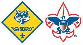 Cub Scout logo and fleur de lis