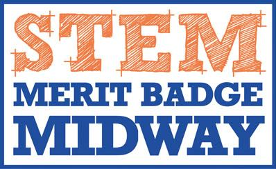 STEM Merit Badge Midway logo