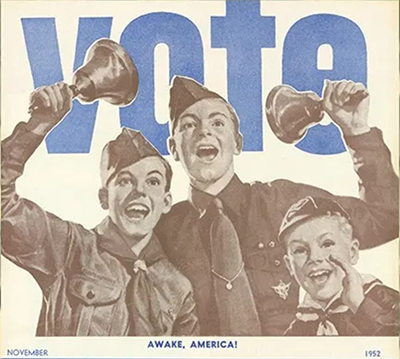 VOTE Scouting magazing 1952