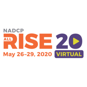 NADCP All Rise 2020 Virtual Conference Logo