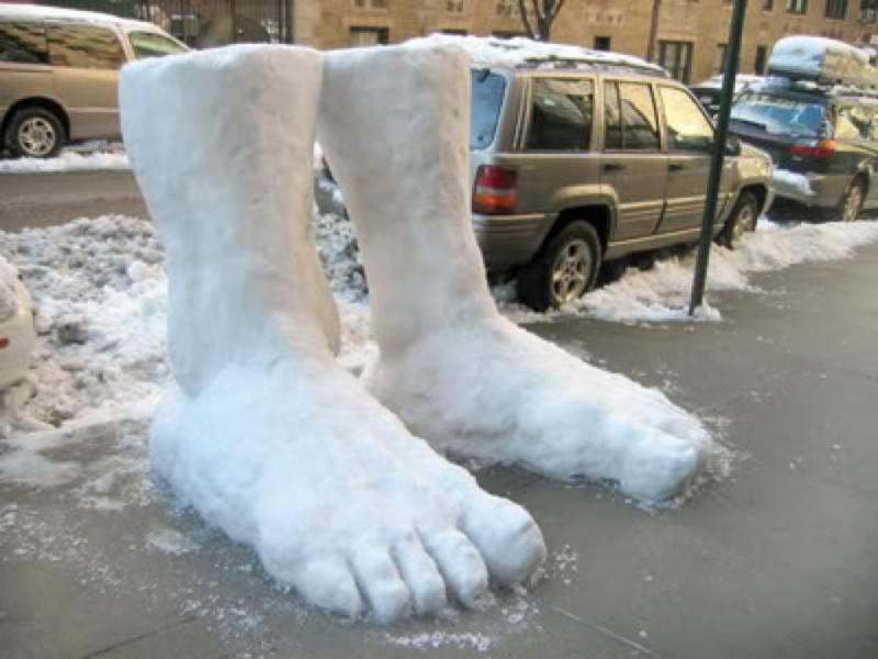 2 Feet of Snow in Seattle