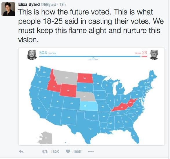 how the young vote