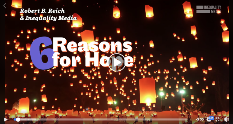 6 Reasons for Hope