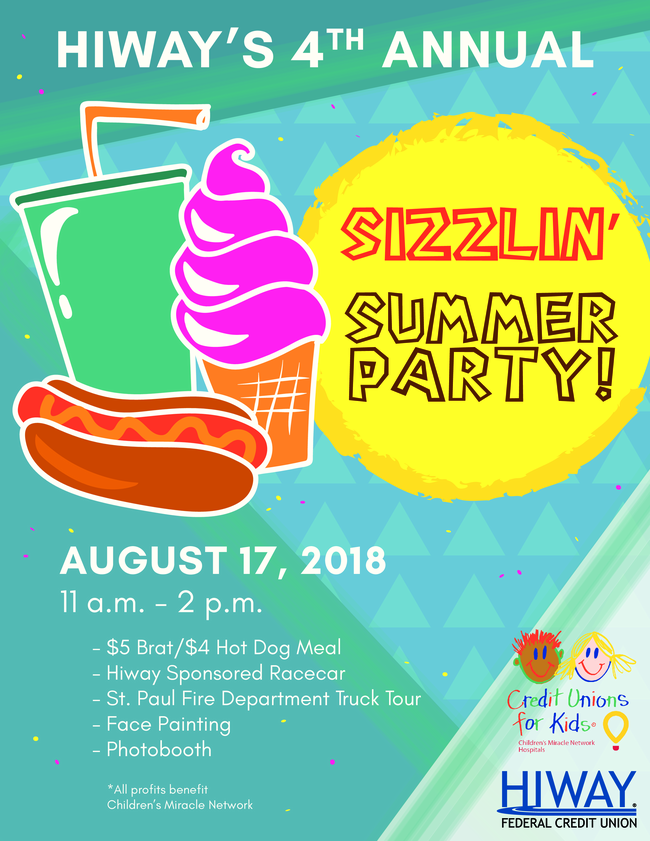 HiWay Sizzlin' Summer Party