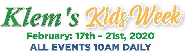 Klems Kids Week