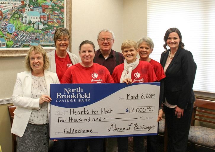 NBSB Donates to Hearts for Heat