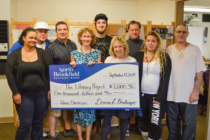 NBSB Supports Literacy Project