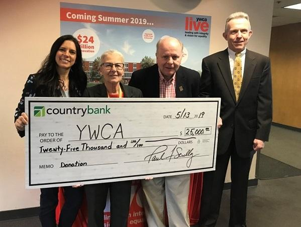 Country Bank supports YWCA