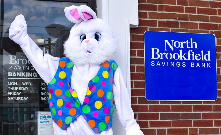 Easter Bunny at NBSB