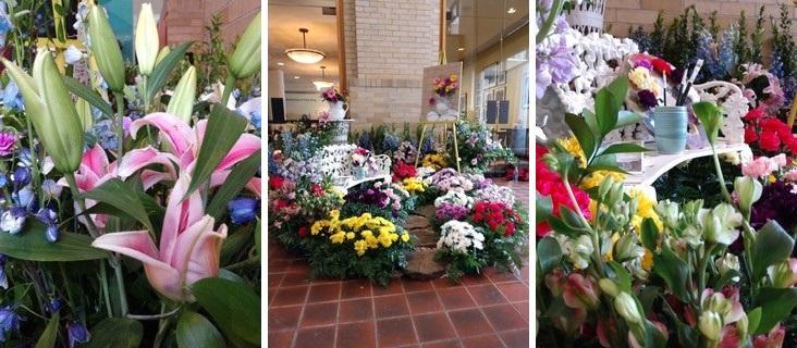 Garden Club display