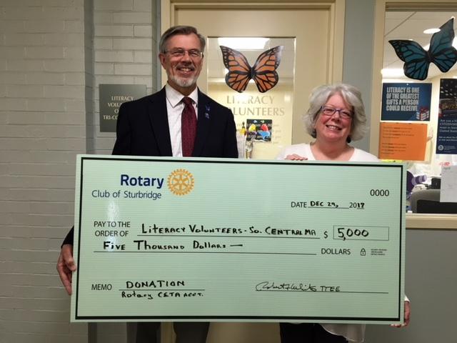 Rotary Donates to LVSCM