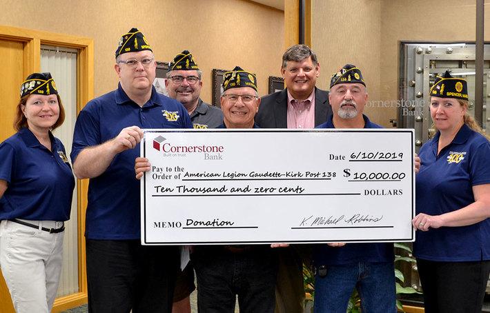 Cornerstone donation