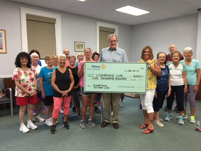 Rotary Donates to Senior Center