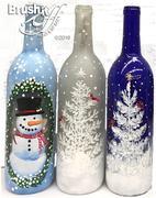 Snowman Bottles