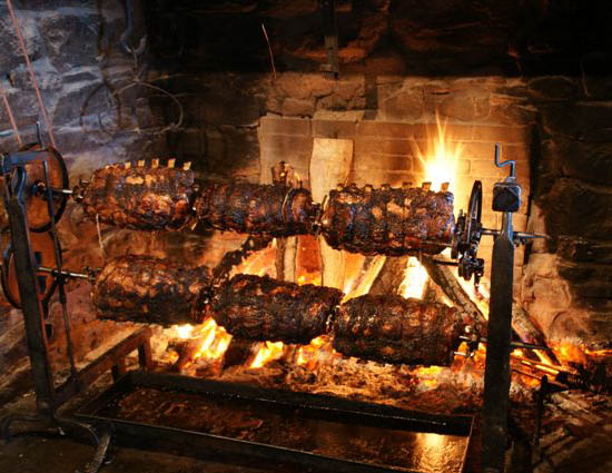 Salem Cross Inn Fireplace Feast