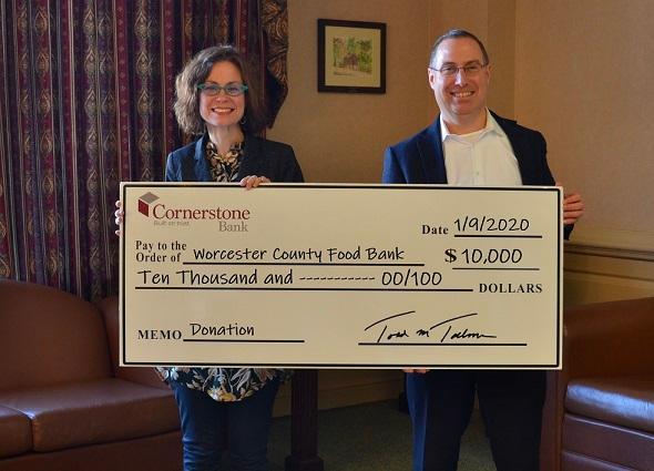 Cornerstone donates