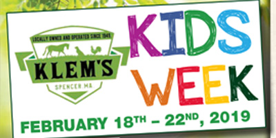Kids week at Klems