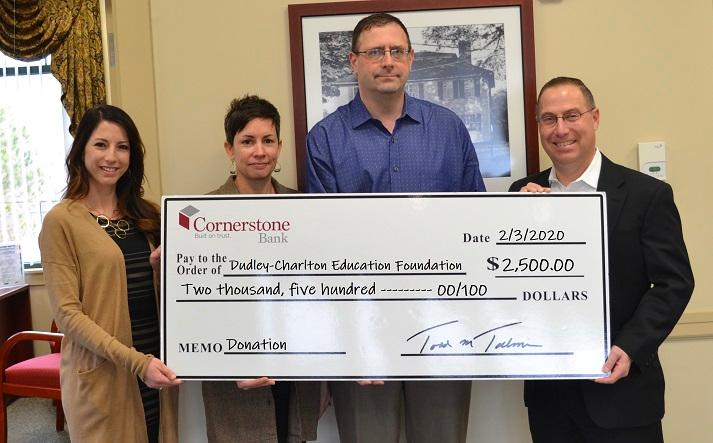 Cornerstone DCEF Donation