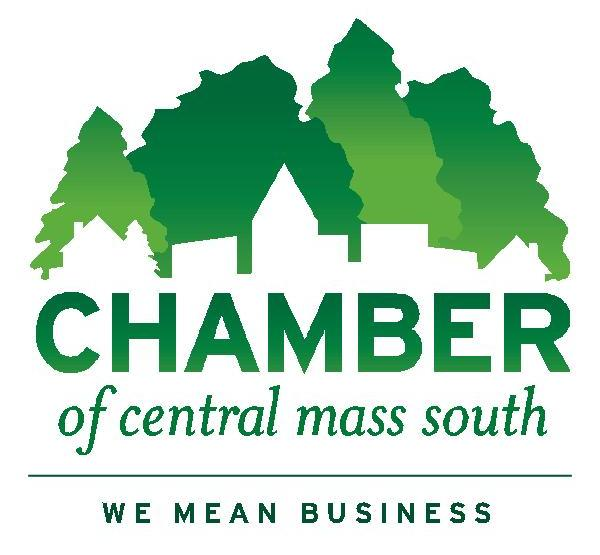 Chamber logo with tag