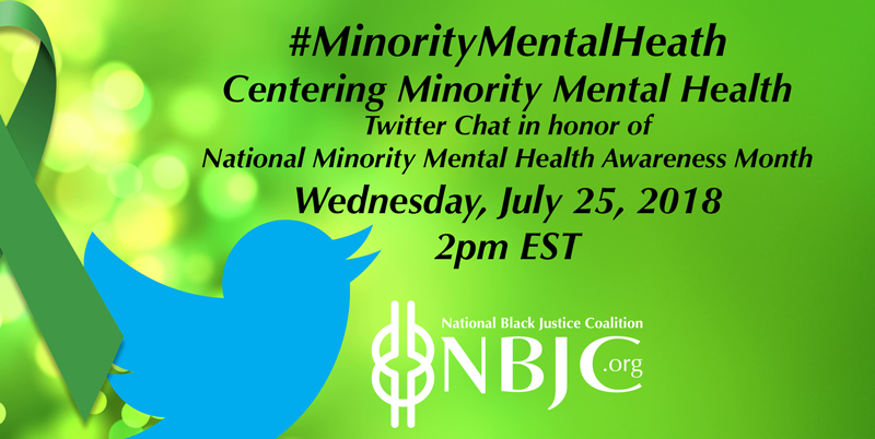 Minority Mental Health Month National Black Justice Coalition