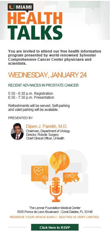 Health Talks at the University of Miami