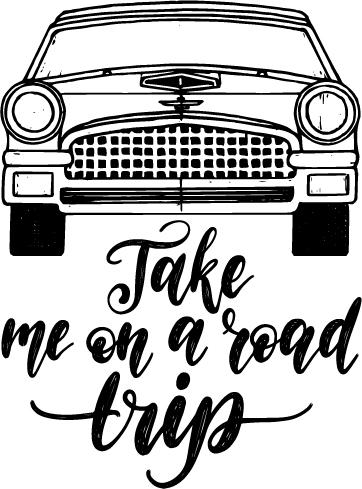 Car Take Me On A Road Trip
