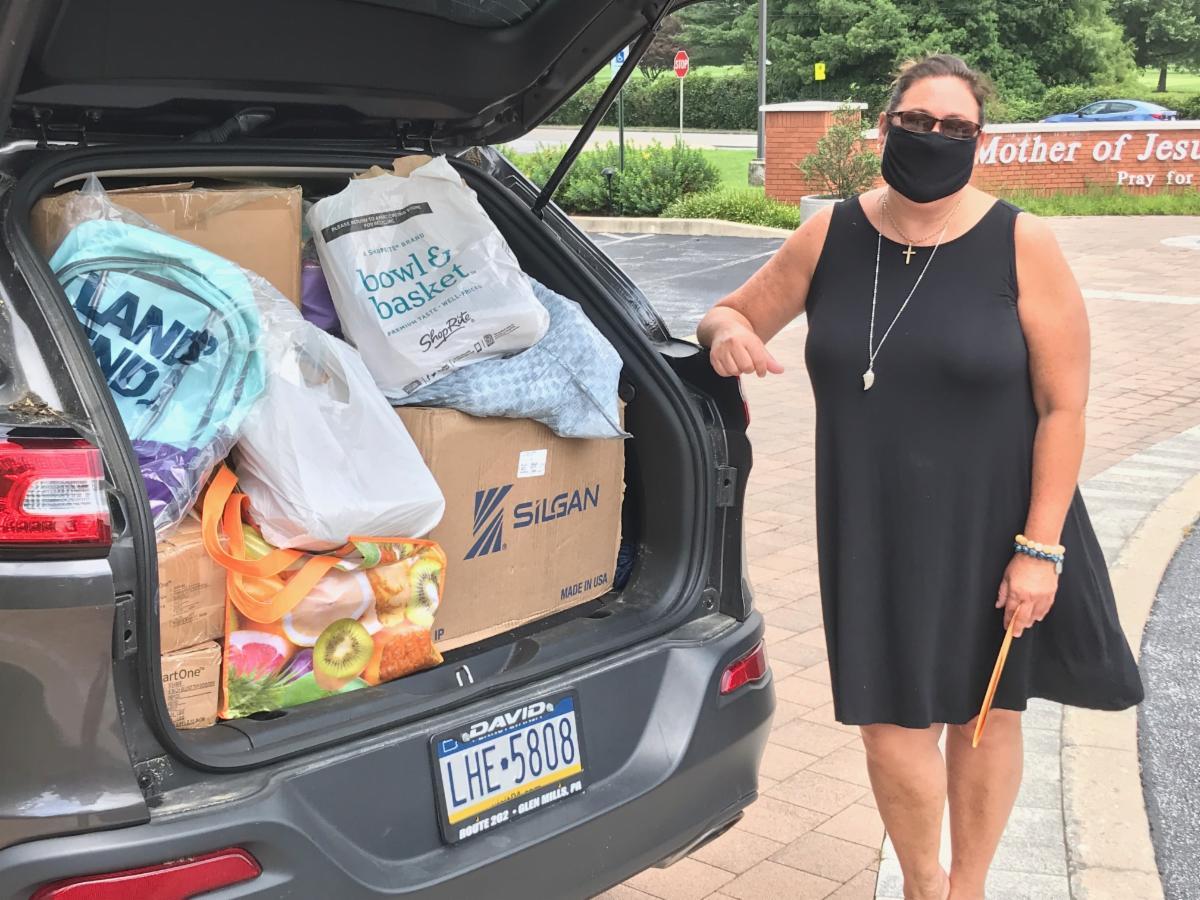 Nancy Craskey - CityTeam School Supplies