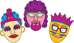 3 purim Masks