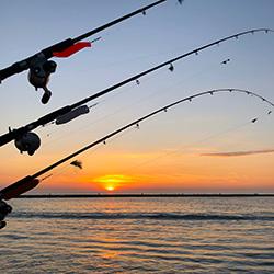 Lake Michigan charter fishing