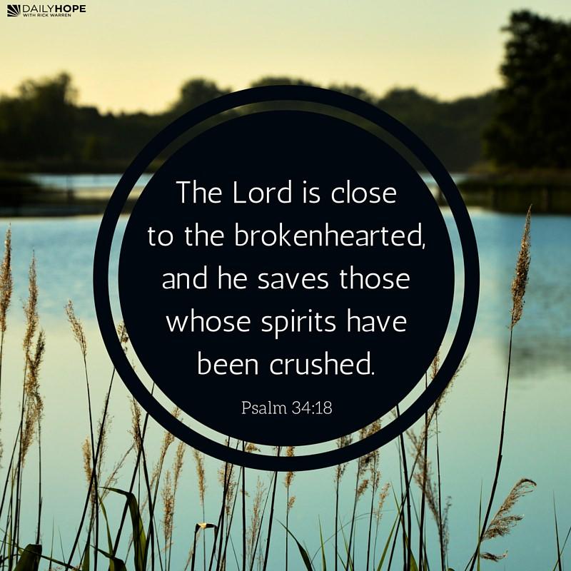 Broken heart christian