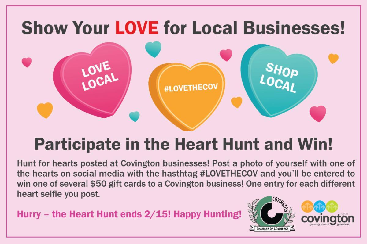 Covington Heart Hunt 2021