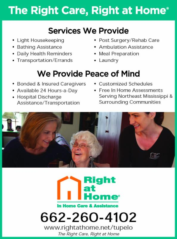 Right at Home - In Home Care and Assistance