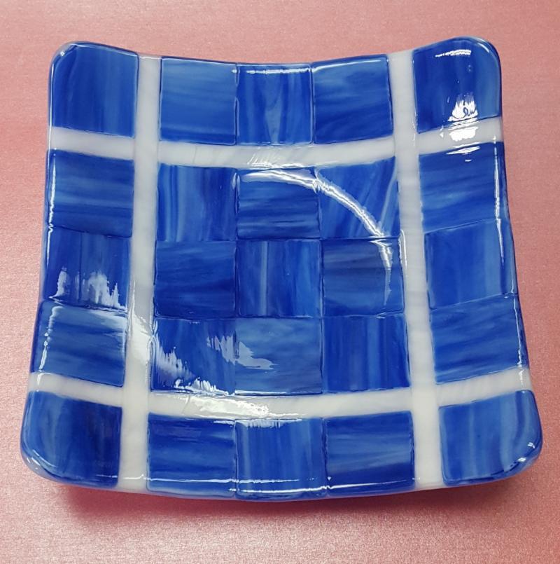 Tartan Squares Bowl