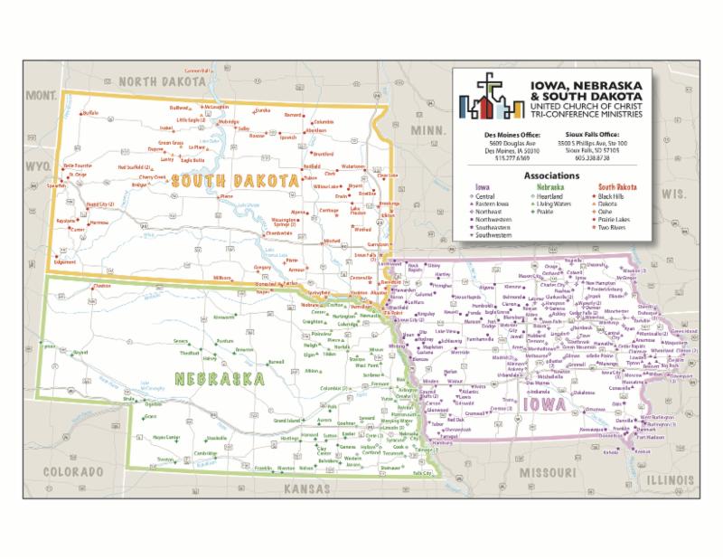 Tri-Conference color map 2019