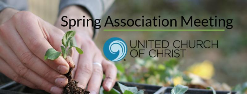 Spring Association Meeting Banner