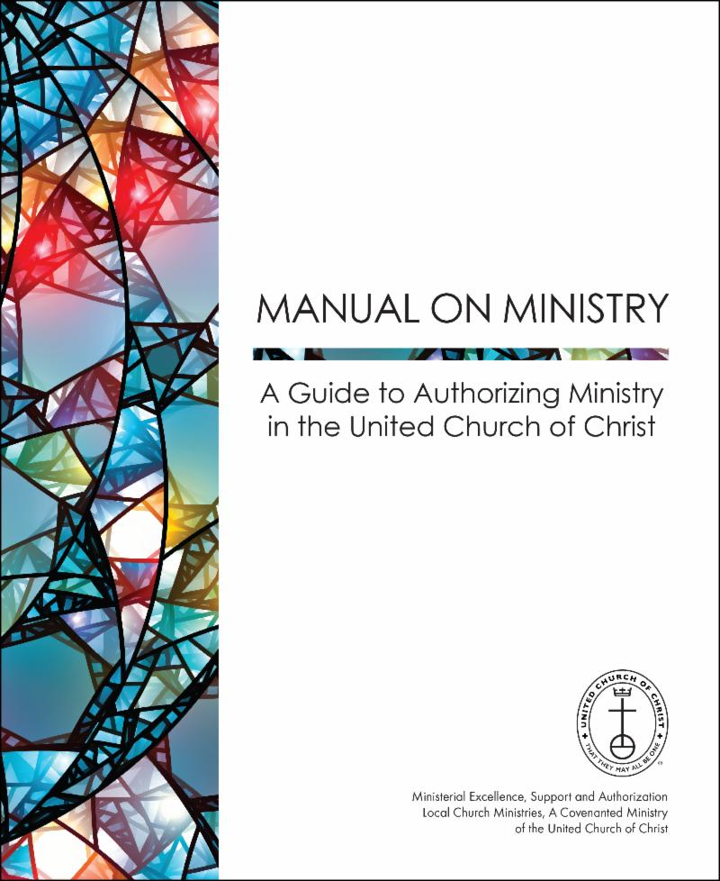 Manual on Ministry Book Cover
