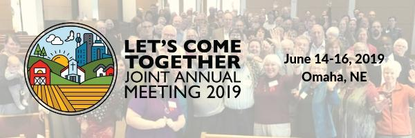 Lets come together Joint Annual Meeting June 14 through 16 in Omaha Nebraska
