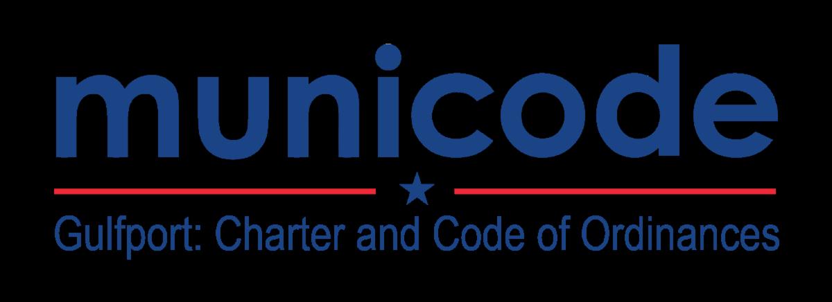 Municode Logo. Gulfport Charter and Code of Ordinances.