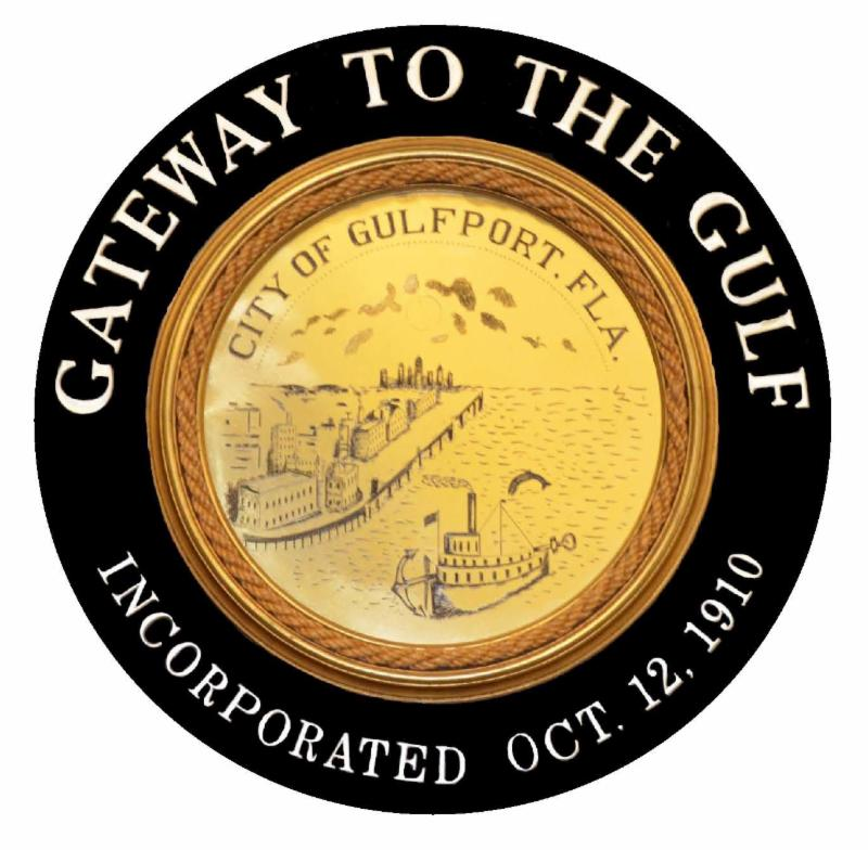 City of Gulfport Gateway to the Gulfport Seal